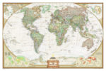World Political Wall Map - National Geographic – Decorative