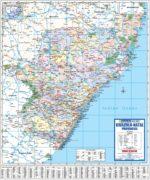 KwaZulu-Natal Provincial Wall Map