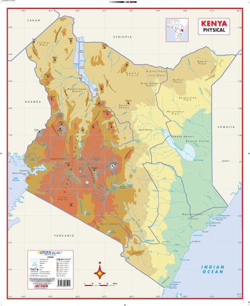 kenya political map 2013 choice image