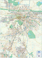 Pretoria Large Wall Map