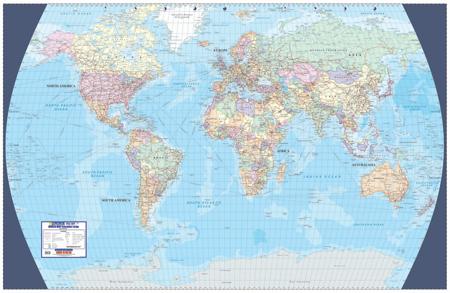 World executive wall map mapstudio gumiabroncs Images