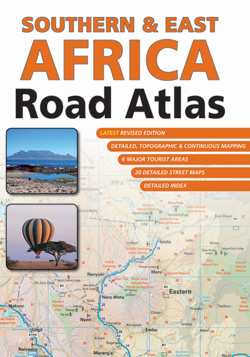 Southern & East Africa Road Atlas - 2nd Edition