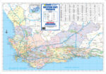 Western Cape Provincial Wall Map
