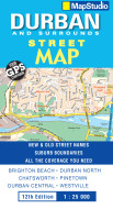 Durban, Surrounds Street Map - Previous Edition