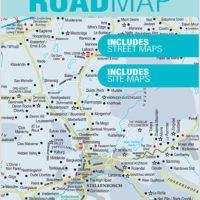 Winelands Western Cape Road Map
