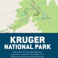 Kruger National Park Travel Map