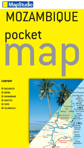 Mozambique Pocket Map -ePDF