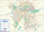 Bloemfontein Wall Map