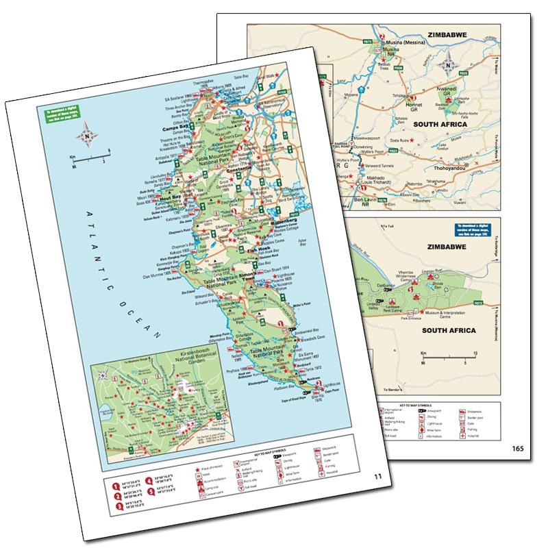 Wildlife Southern Africa PDF Maps