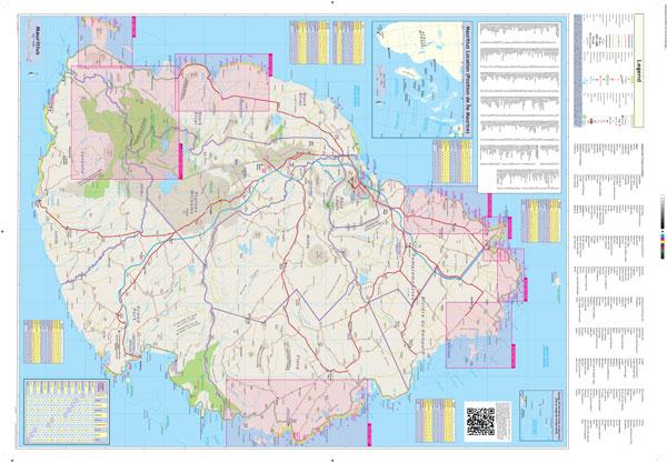 Mauritius Globetrotter Map MapStudio - Map mauritius roads