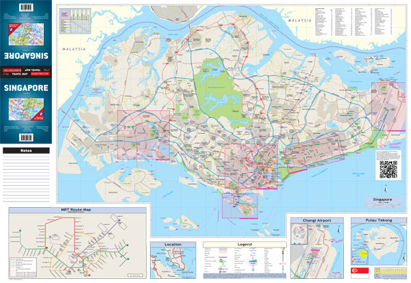 Singapore Globetrotter Map MapStudio