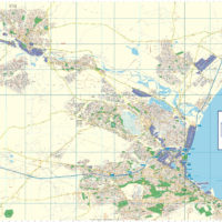 South Africa Physical Educational Wall Map MapStudio - South africa physical map