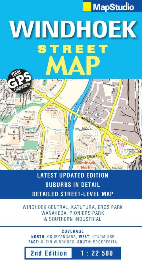 Windhoek Street Map -ePDF