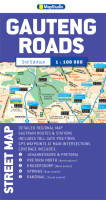 Gauteng Roads Street Map