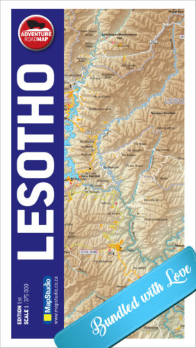 Lesotho Adventure Road Map