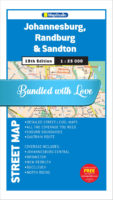 Johannesburg, Randburg, Sandton Street Map