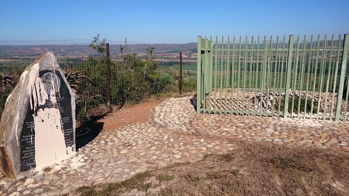 Sarah Baartmans grave