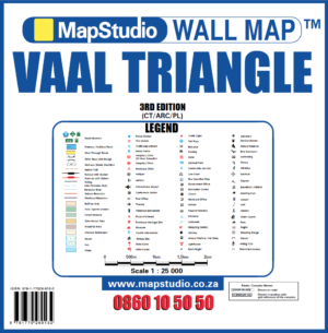 Vaal Triangle Wall Map