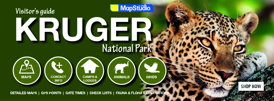 Kruger National Park Visitors Guide Maps Camps Animals