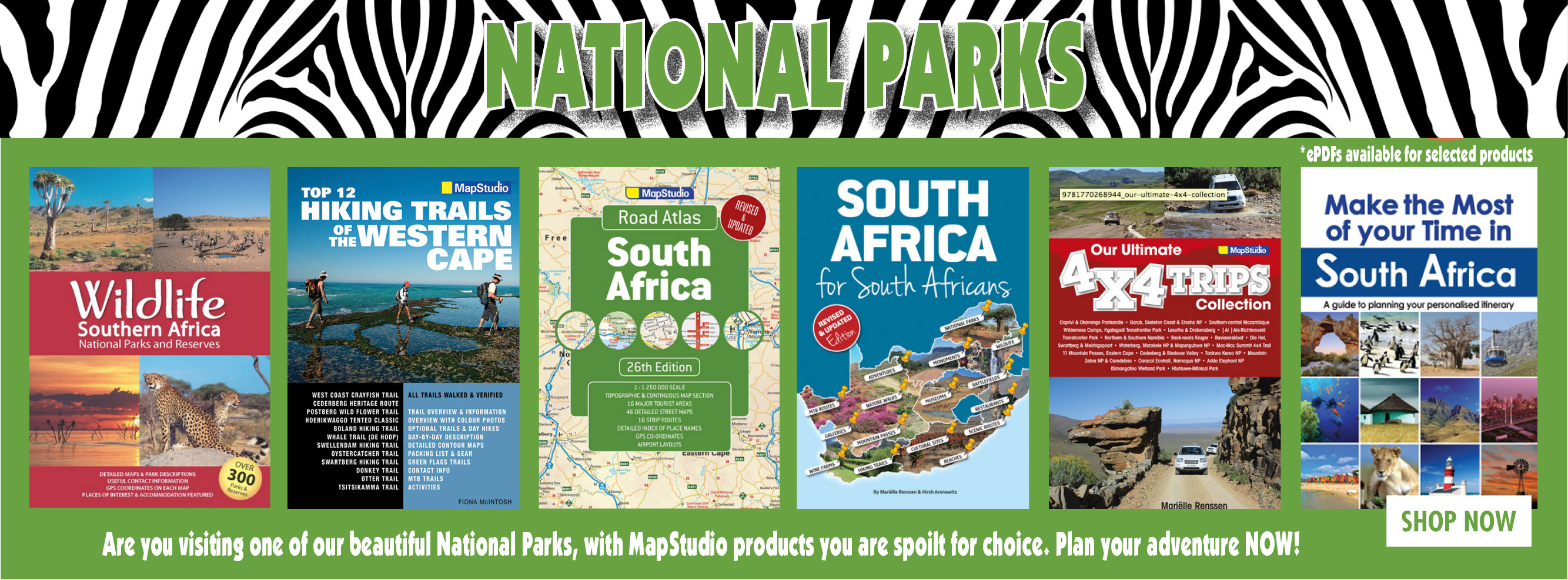 National Reserves and Parks in South Africa